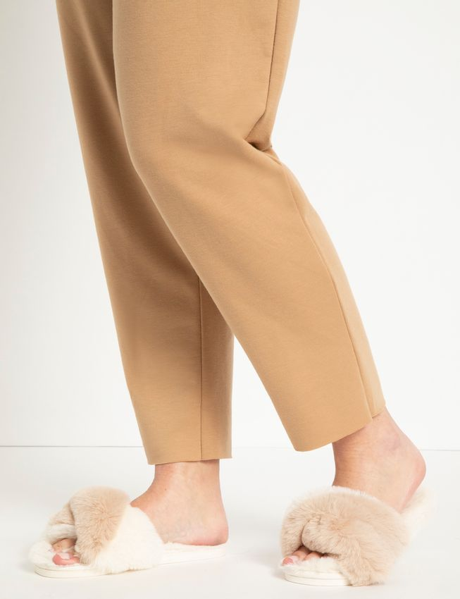 Stowe Faux Fur Slippers