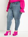 Viola Fit Olivia Sculpting Skinny Jean Medium Wash