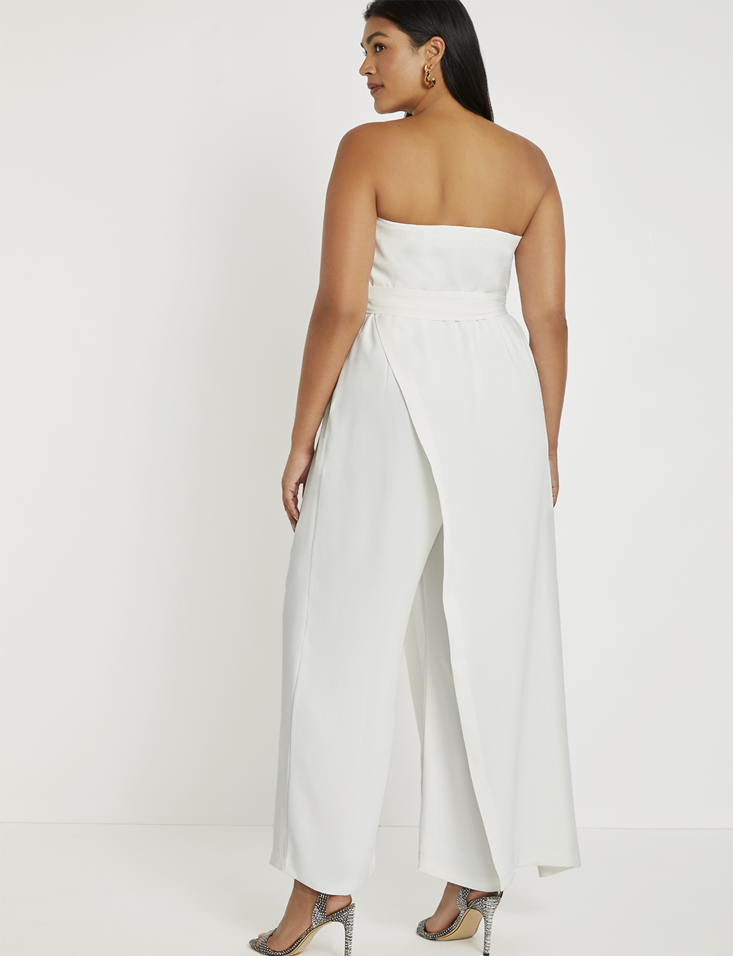 Draped Front Jumpsuit