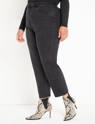 Crop Stretch Mom Jean