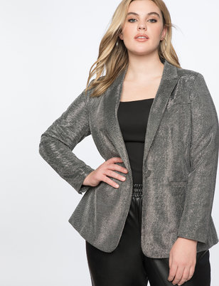 Metallic Blazer
