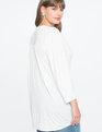 Peasant Sleeve Easy Tee Soft White