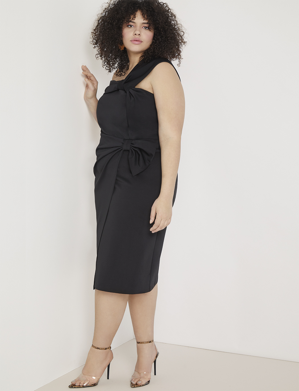 Draped Bodice Dress