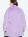Lilac Faux Fur Coat Lilac
