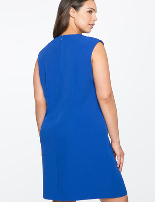 Bow Detail Shift Dress
