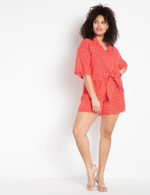 Printed Pull-on Short