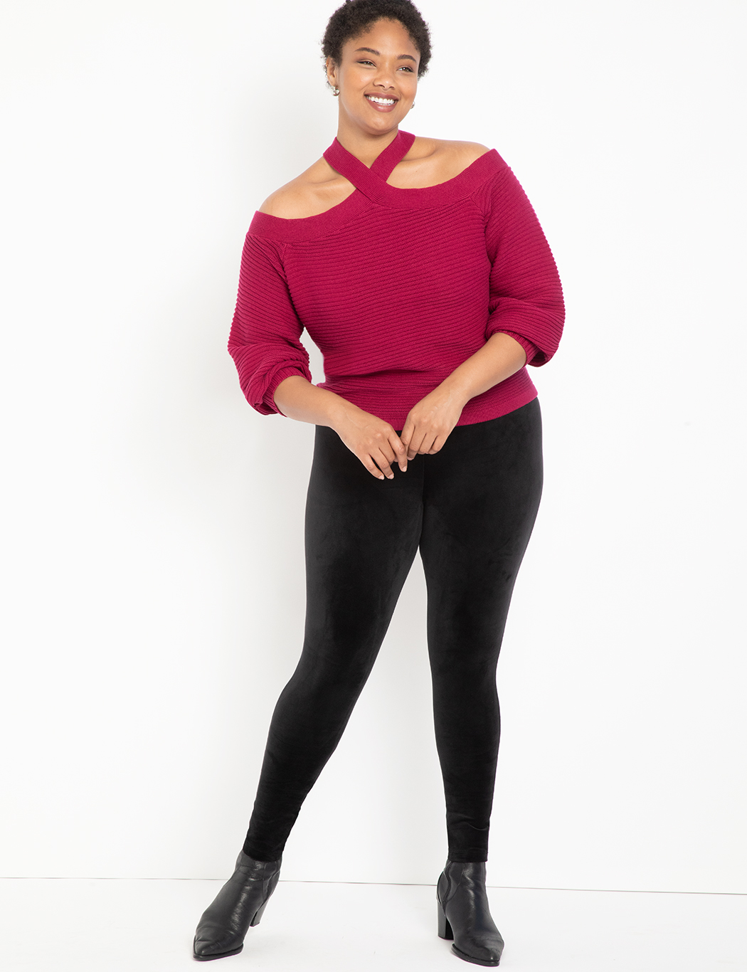 Miracle Flawless Legging with Velvet Front 5