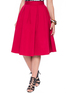Studio Midi Skirt Red