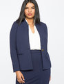 9-to-5 Stretch Work Blazer Maritime Blue