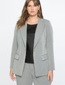 Premier Bi-Stretch Work Blazer Heather Grey