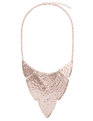 Metal Plate Statement Necklace