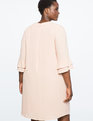 Ruffle Sleeve Easy Dress Mystic Pink