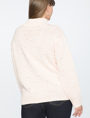 Draper James for ELOQUII Puff Dot Sweater