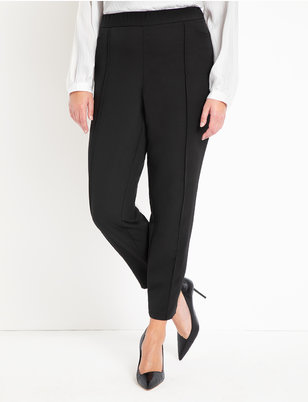 Slim Pintuck Work Pant