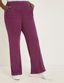 Sparkle Pull-on Wide Leg Pant Potent Purple