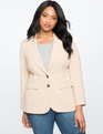 Soft Suiting Blazer Blush