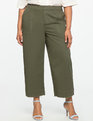 Wide Leg Chino Pant Antique Olive