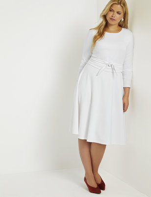 Plus Size White Dresses