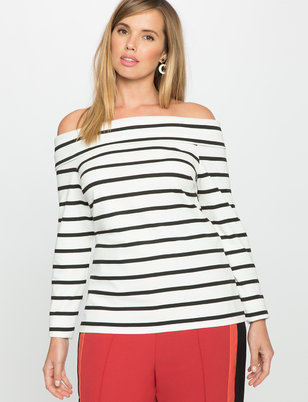 Cross Front Off the Shoulder Top