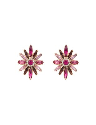 Starburst Jeweled Earrings