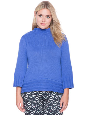 Hi-Lo Turtleneck Sweater