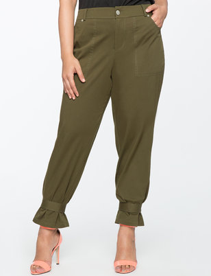 Cinched Ankle Chino