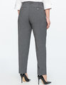 Kady Fit Double-Weave Pant Charcoal Heather
