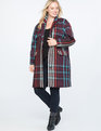 Plaid Car Coat Color Plaid