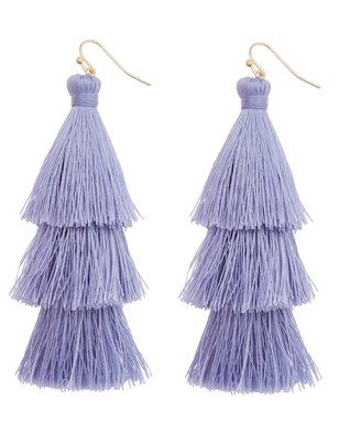 Tiered Tassel Earrings