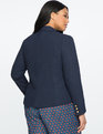Textured Blazer NAVY