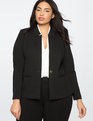9-to-5 Stretch Blazer Totally Black