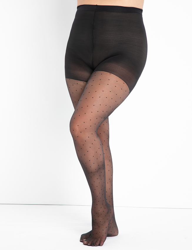Small Swiss Dot Tights