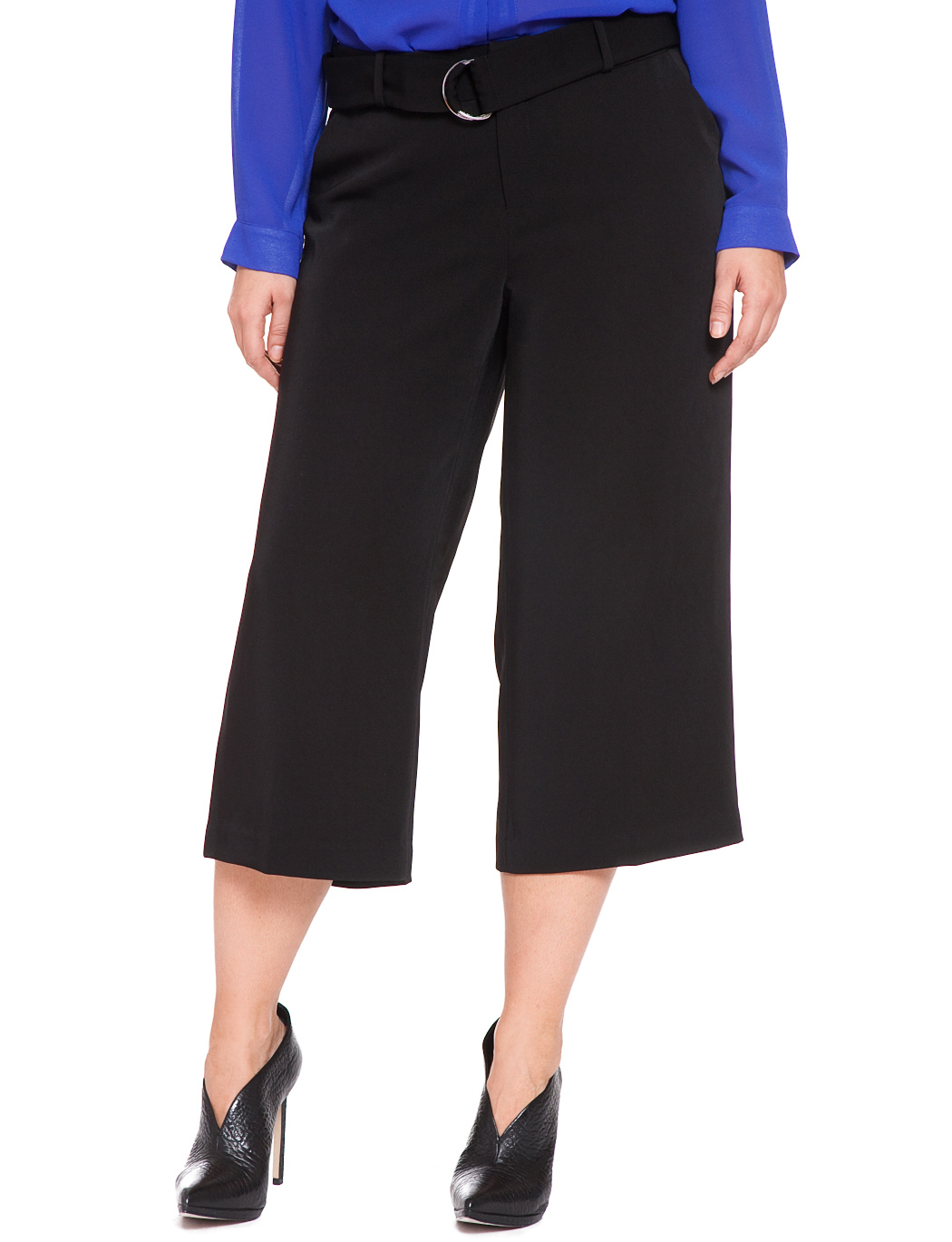 Studio Wideleg Culotte Pant | Women's Plus Size Pants | ELOQUII