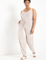 Soft Knit Jumpsuit Tea