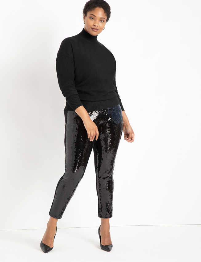Miracle Flawless Legging with Sequin Front