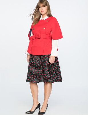 Draper James for ELOQUII Floral Dot Skirt