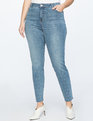 Skinny Jean with Studs Medium Wash