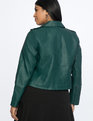 Moto Jacket Botanical Green