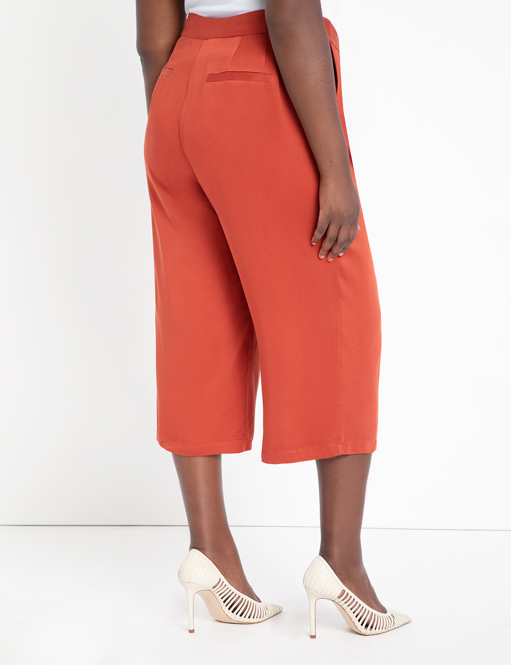 High Waisted Cropped Pant