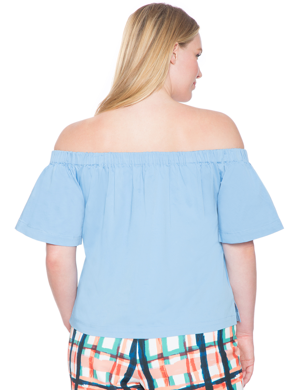 Structured Off The Shoulder Top