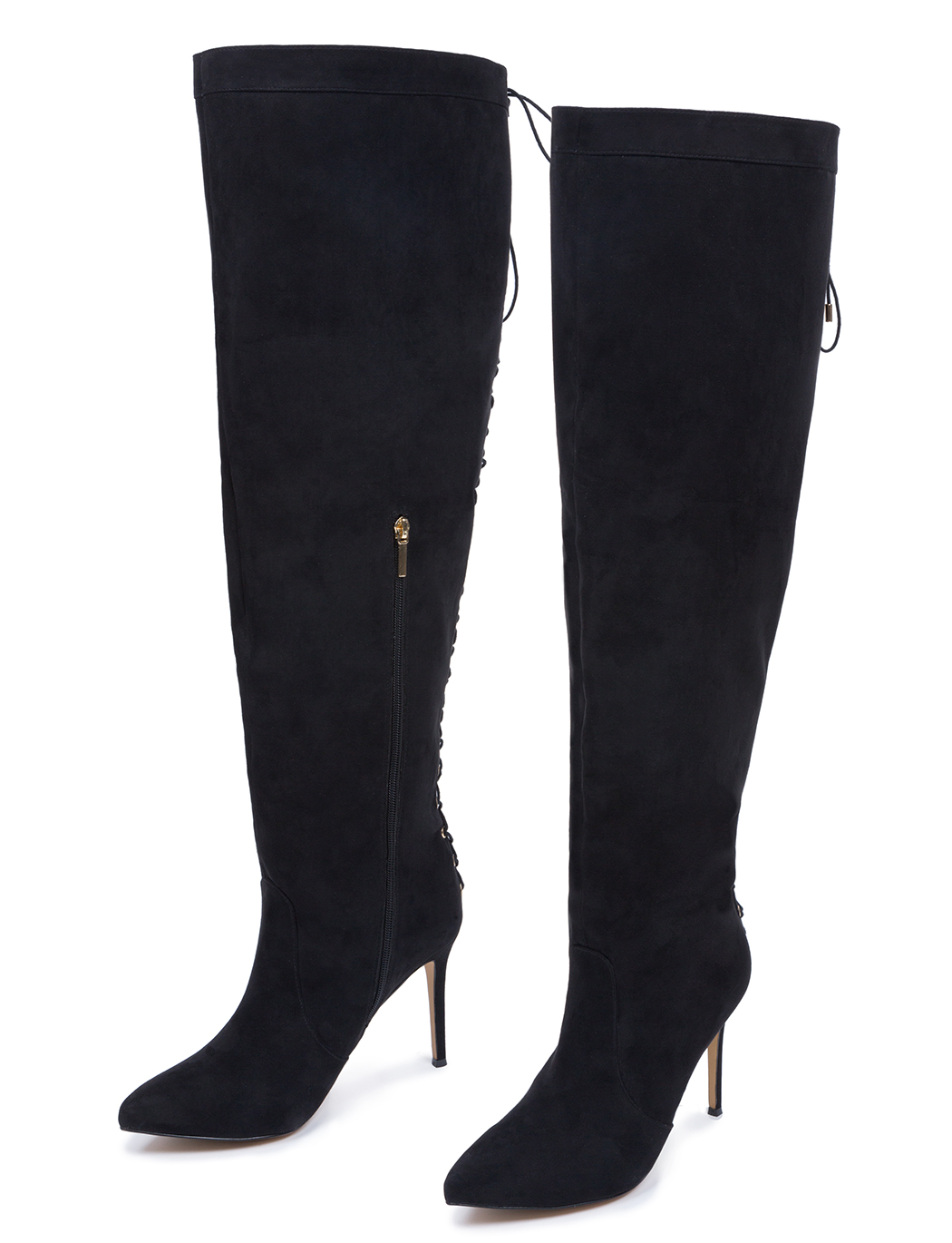 Over The Knee Lace Up Boot