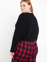 Cropped Sweater Black