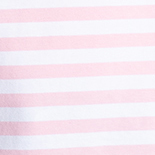 Baby Pink + White Stripe