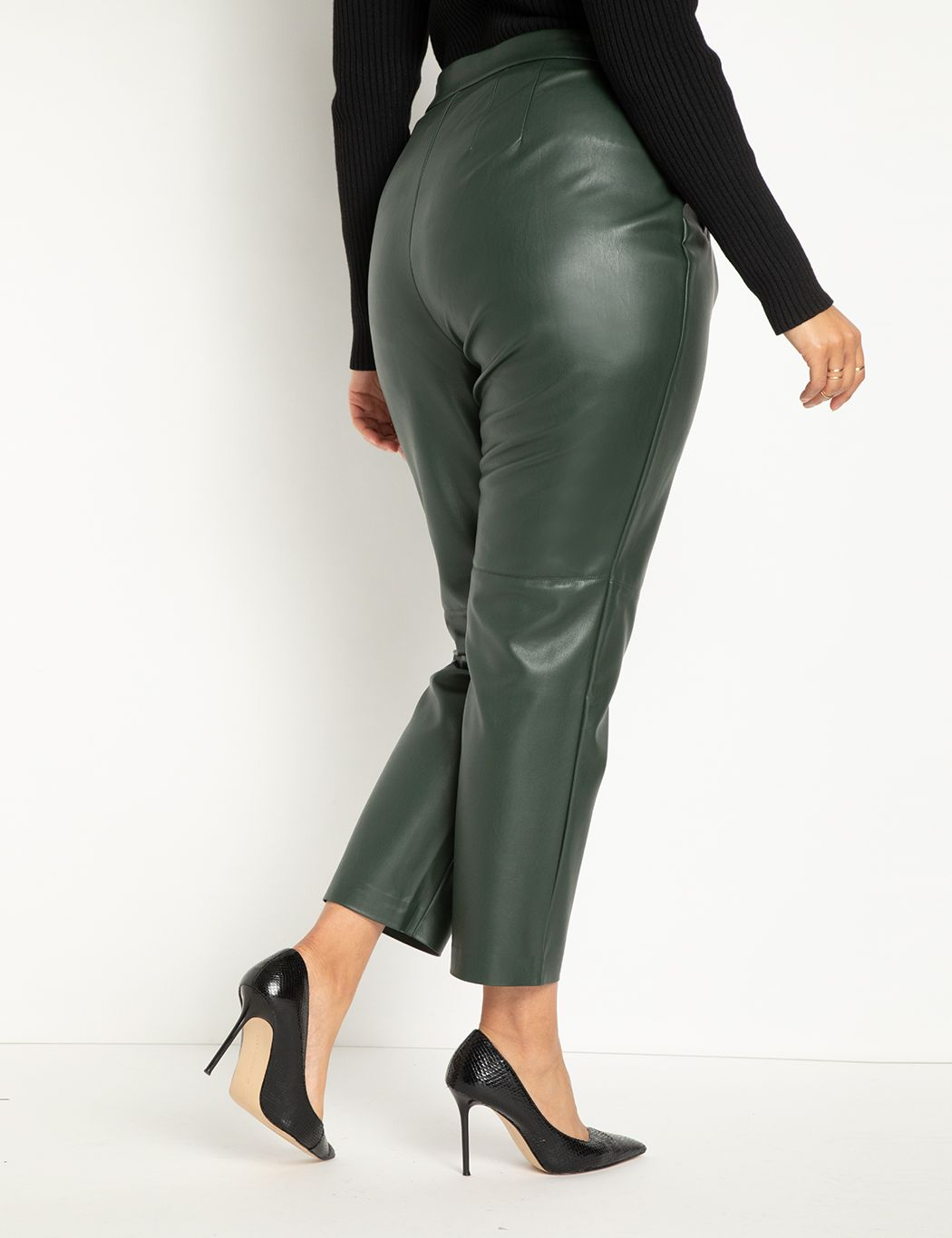 Slim Leather Pant