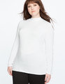 Essential Turtleneck WHITE