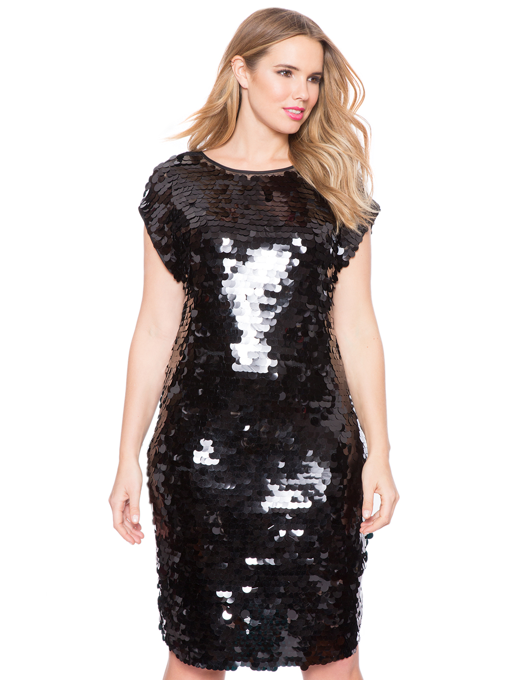 Studio Sequin Party Dress | Women\'s Plus Size Dresses | ELOQUII