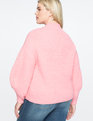 Puff Sleeve Sweater Sugar Frosting