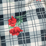 Plaid Flower
