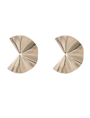 Wavy Cutout Earrings