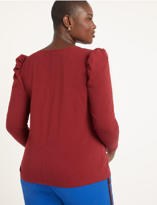 Dramatic Puff Long Sleeve Tee